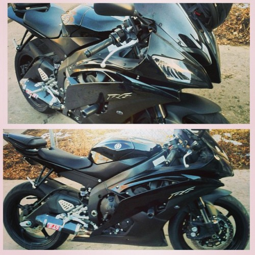 juaritoz03:  My friends new #bike #cool ass #ride #Pet #R6  I can't wait to gain more experience and get a blue r6