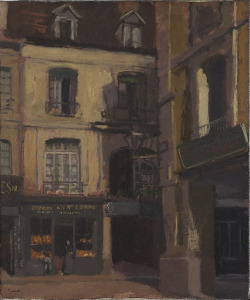 The Shop, Dieppe, c. 1898Walter Richard Sickert British, 1860 - 1942Oil on canvas55.3 x 46.3 cmAnonymous Gift, 1987© 2013 Art Gallery of Ontario