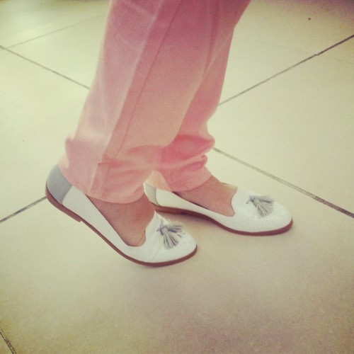 Zapatos Inspiración para una tarde de relax / Loafers ASOS of the day ♥ light ♥ white