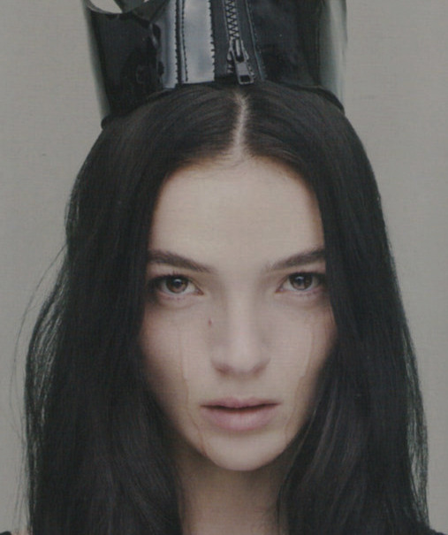 mariacarla boscono in 'supernatural' by mert & marcus for love #6 fw '11.
