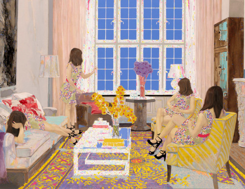 campsis:  Contemporary artist Naomi Okubo, Japan ~ Blog of an Art Admirer