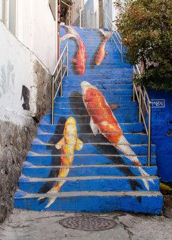 woah Street Art south korea