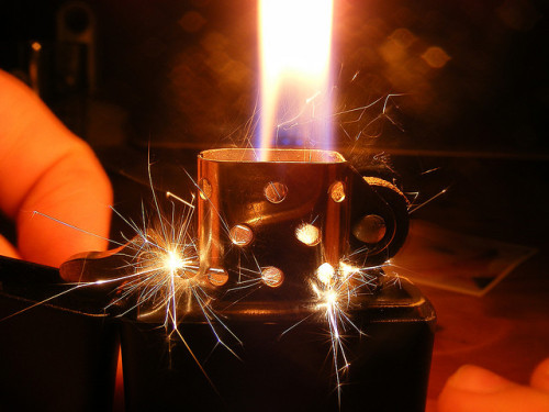 Lighter by CJ Isherwood on Flickr.