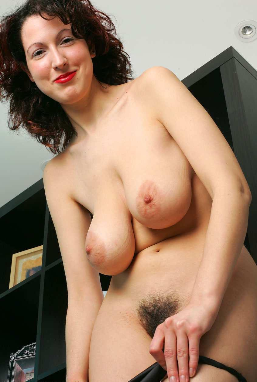 Mature big saggy tits woman