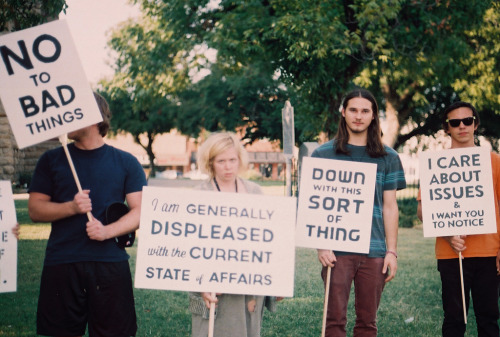 Vague Protest. (by The Vision Beautiful)