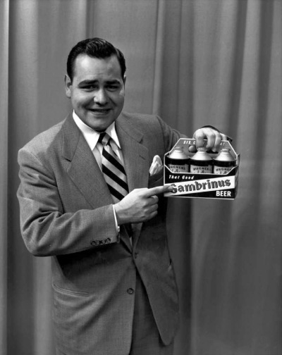 "Dayton, Ohio native Jonathan Winters died yesterday evening at his Montecito, Calif., home of natural causes, said Joe Petro III, a longtime family friend. Petro said Winters was surrounded by family and friends.  In the 1950s, before he moved to New York City, the comedian performed on WBNS-10TV in Columbus as ""Johnny Winters."" In this WBNS file photo, a young Winters is shown making a pitch for Gambrinus beer."
