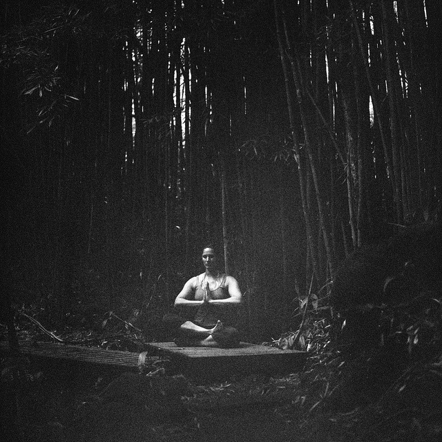 Some quiet reflection in the bamboo forest on Pipiwai Trail. It was a lot darker in there than I thought. Guess a meter would have come in handy. Hasselblad 500 C/M | Kodak TMax 400 pushed to 1600