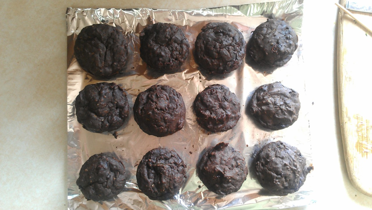 first day of work! - made some damn muffins (for myself)