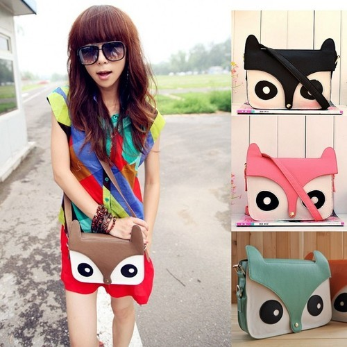 kawaiiwish:  Owl Bag - $18