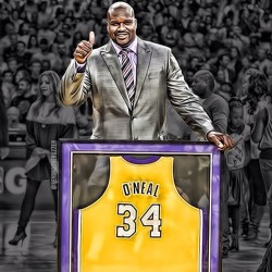 techandmusicfan:  Congrats to the homie #Shaq. He deserves all the accolades that he gets…. #MVP #NBA #Lakers #