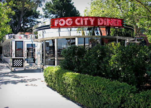 Fog City Diner on Flickr.Fog City Diner San Francisco California Sadly, The 'diner' part is getting dropped, and so, likely, will all that chrome.