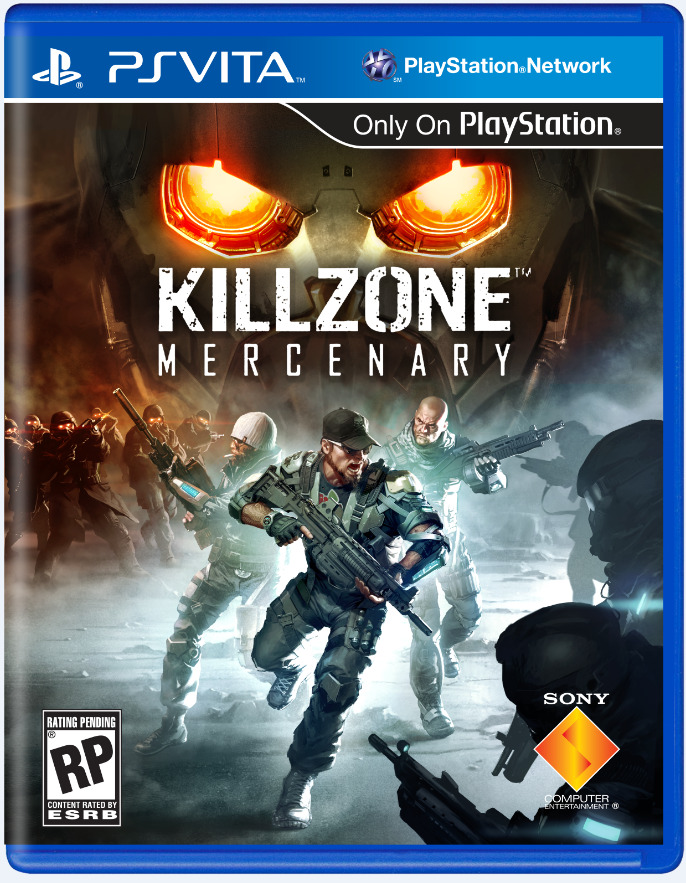 The lid was blown off Killzone: Mercenary in recent days. The PlayStation Vita title received it's gameplay debut and previews went live across the web praising it's prospect. Now, here's the game's box art. Expect to see the game in September. Could it be the Vita's first killer app?