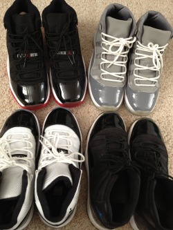 justjordans:  Favorite pairs(: Submitted to Just Jordans - What did your wear Today?