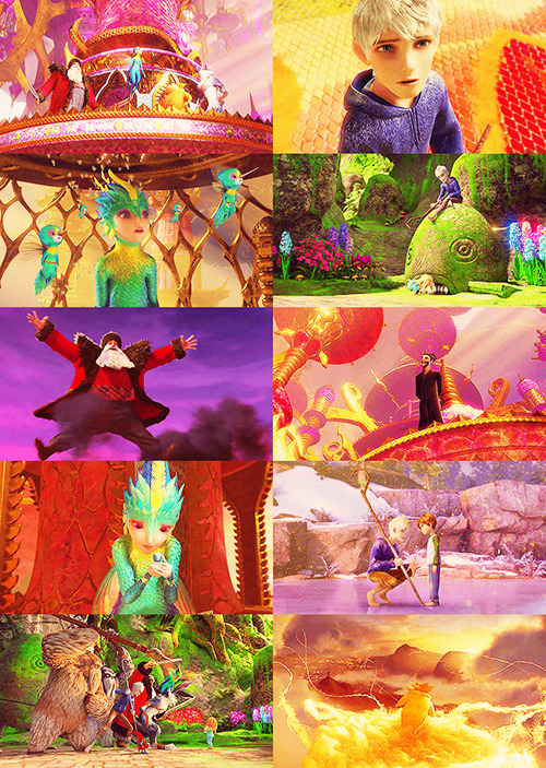 Screencap Meme: Rise of the Guardians + Colors Abound.