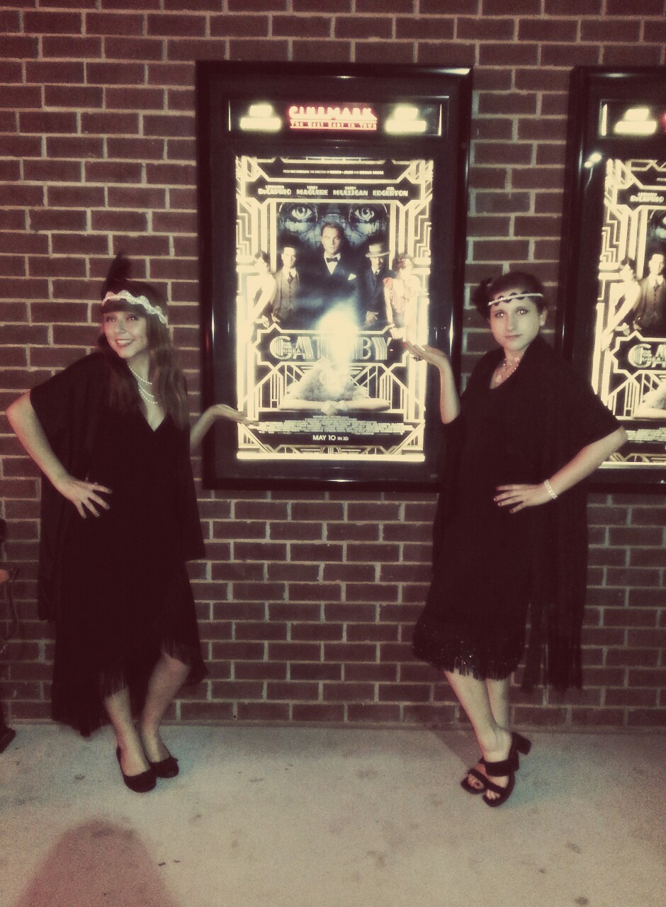 We were the only ones dressed for Gatsby's party. What a shame.