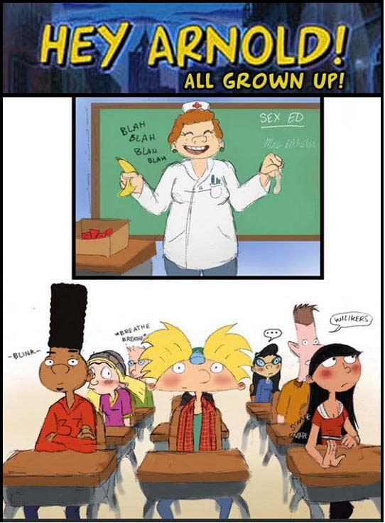f-ingforvirginity:  MORE Hey Arnold Characters as Teenagers