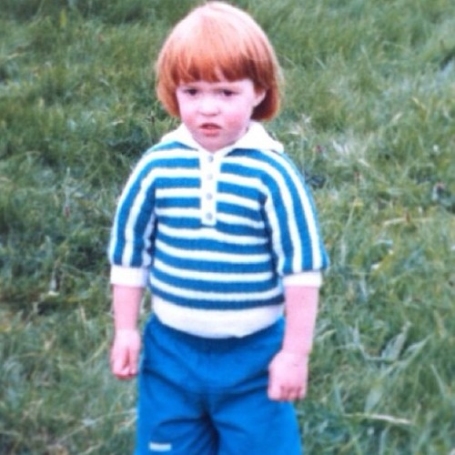 Tack @wilhelminayea for today's #tbt - wee angry wrestler ginge 💪😠