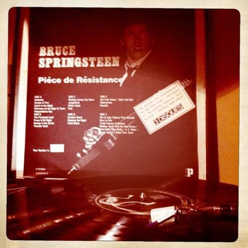 seriousbusinessrecords:  Bruce Springsteen: piece de resistance 09.19.78. Passaic, Nj. #bootleg #vinyl #3lp #brucespringsteen #theboss #deepjersey #streetsoffire #bruce #garrytallent #maxweinberg #littlesteven #roybittan #dannyfederici #theprofessorroybittan #mightymax #thebigman #clarenceclemons #clarence #thebigmanclarenceclemons #thepromisedland #darknessontheedgeoftown #passaic #newjersey #broooce #broooooooooce #bruuuce #bruce #bruuuuuuuuuuuce #jersey #borntorun #bornintheusa #theriver #thewildtheinnocentandtheestreetshuffle #theestreetband #estreet #estreetband #E #street #band  Important lesson in tagging, right here.