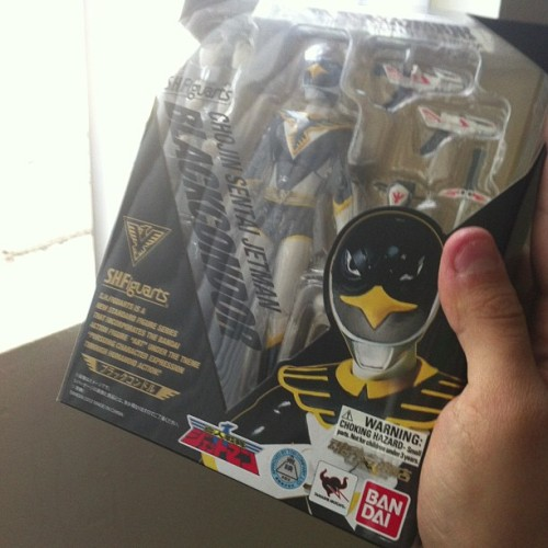 Look what arrived! #sentai #jetman #figuarts