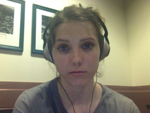 This is the face of a girl who really does not want to be studying for mid terms. No sleep tonight. Save me.