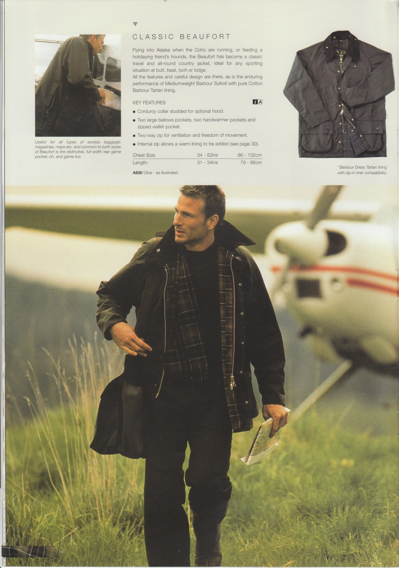 Barbour Beaufort from the 2001-02 catalog.