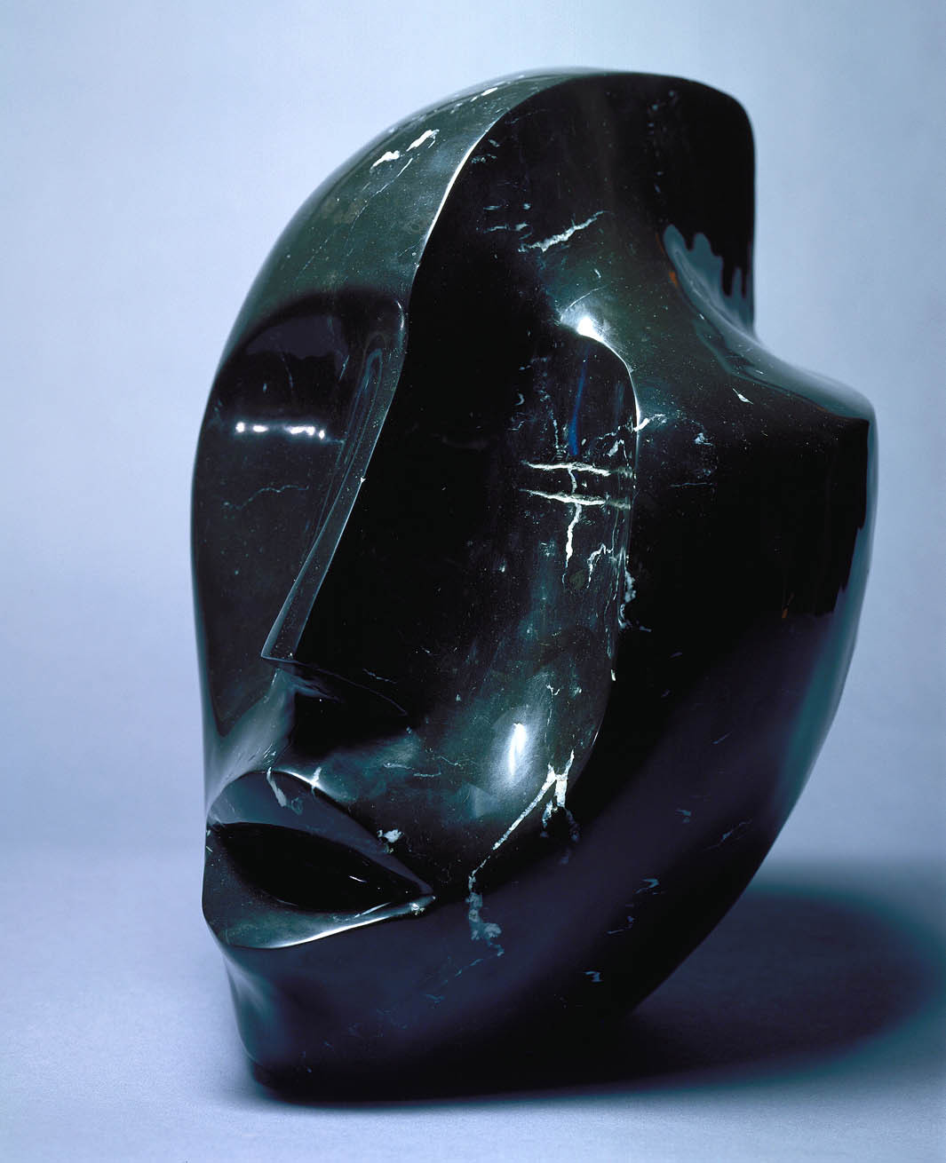 cavetocanvas:  Elizabeth Catlett, Singing Head, 1980