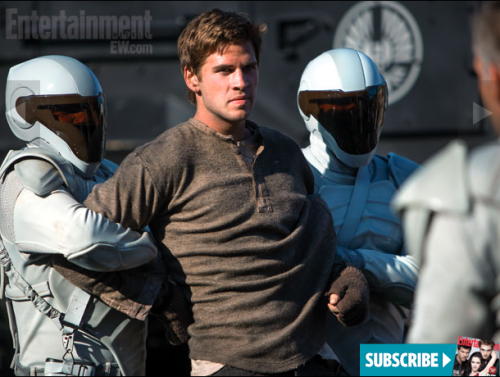 Unimpressed Gale is unimpressed by these new stills from Catching Fire. New movie, same facial expressions.
