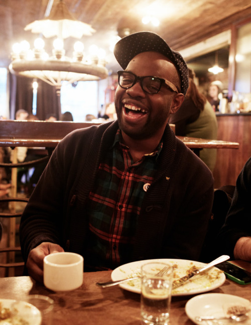 Brunch and comic relief from the one and only Paul Octavious at The Smile in NYC