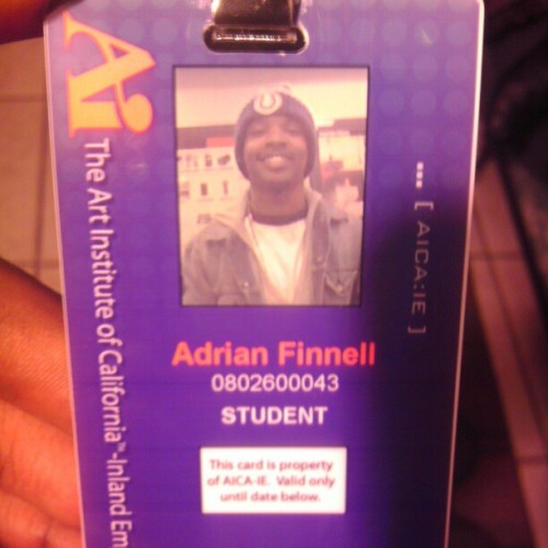 Its official , #AIStudent #HighSociety #GoingPlaces #FutureCareer