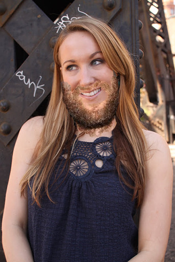 Episode 34: Nikki Glaser. Beard courtesy of Jon Glaser.  Names!