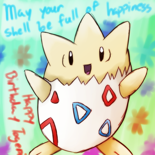 Birthday picture for my friend PDUTogepi! Have a great day!