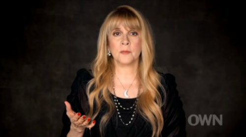Stevie Nicks gets candid in an upcoming interview with Oprah Winfrey, talking about music, her struggles with addiction and the recent death of her mother on Oprah's Master Class this Sunday. See an exclusive clip where Nicks talks freely about her breakup with bandmate Lindsey Buckingham, which famously happened as Fleetwood Mac began work on their 1977 classic Rumours.