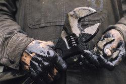 hands learn car work hard grease bike hard work motor mechanic Wrench