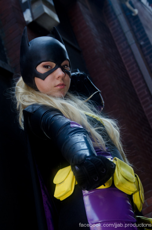 jjabarrett:  Stephanie Brown Batgirl Cosplayer: Gabi  Check out Gabi, who purchased my old Steph Batgirl suit! She looks sooo good. - Jenn