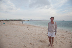 Nic on Chaves Beach, Boavista