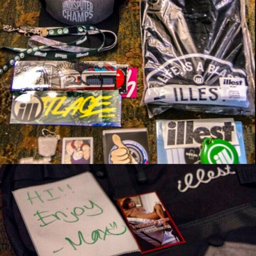 Thanks for the package. @markarcenal @max_fatlace #fatlace #illest #fatlacetv #hellaflush #package #gear #royalorigin