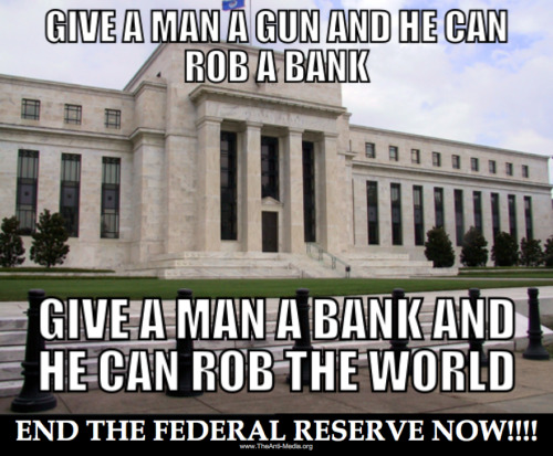 And…  The best way to rob a bank is to own one. — William K. Black, head of fraud prosecution in the Savings & Loan scandal.