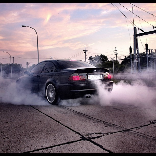 #burningrubber #M3 #E46 #EVA