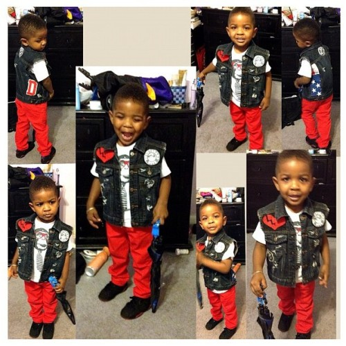 Custom #denim work for the youngins #DNTN #BrandBoy