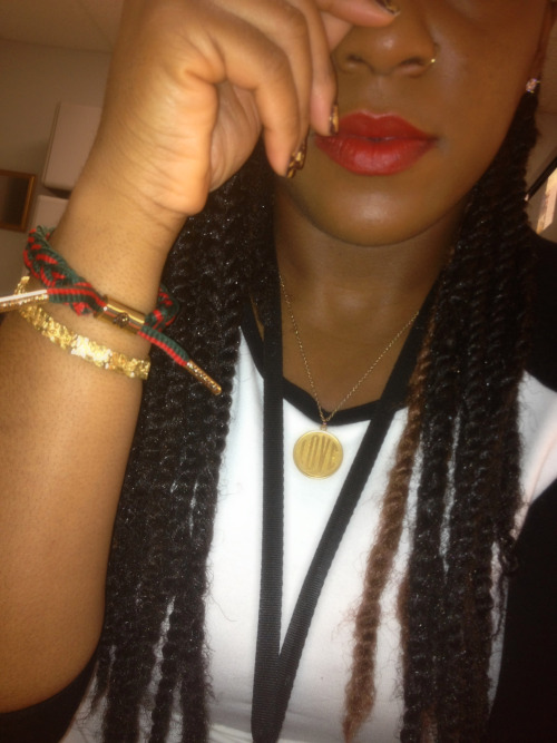 #rastaclat #gucci #red #lippies #chocolate #brownskin