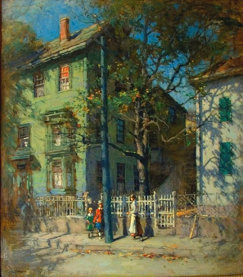 Gloucester, Paul Cornoyer.