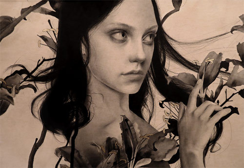 booooooom:  Drawings by Alessandra Maria.