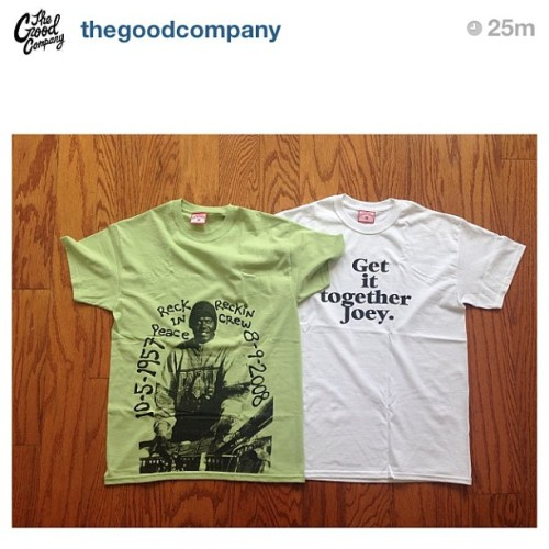 If your in NY go pick up some @reckincrew13 from @thegoodcompany now. These two are available .