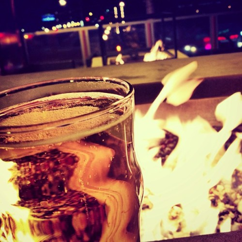 #beer #fire @susie_glodich  (at Red Fox English Pub)