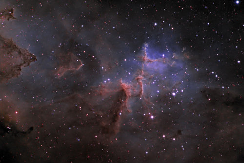 n-a-s-a:  IC 1805 The Heart Nebula Central Region Credit:Matthew T. Russell