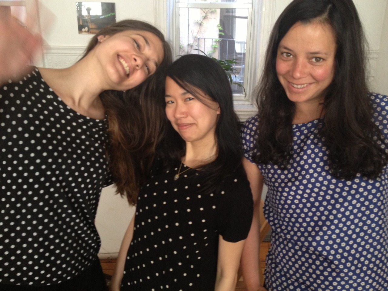 kickstartereveryday:  Tripling a.k.a polka dot every day