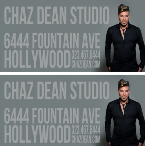 Artwork for new Chaz Dean Studio billboard! Chaz Dean Studiophoto by : www.marccartwright.com