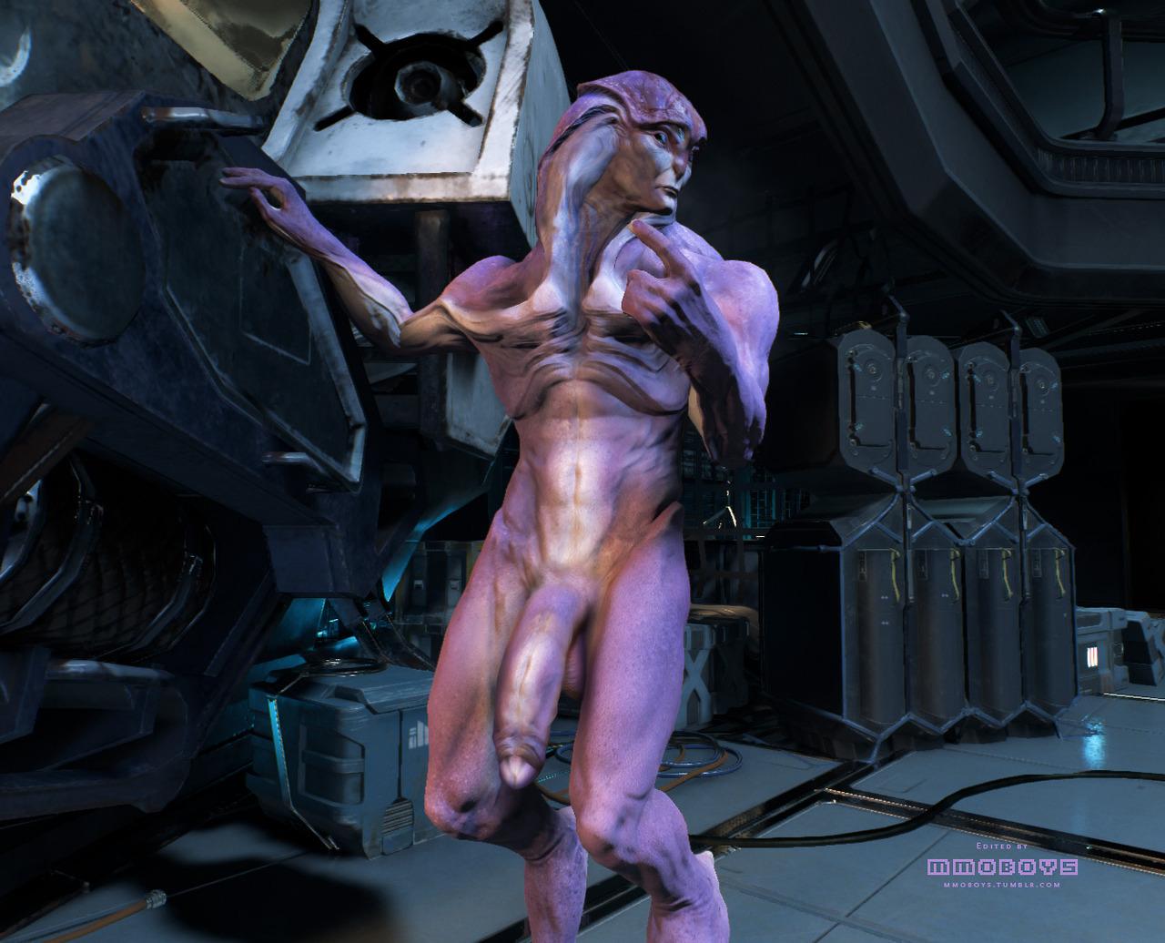 3d alien monster porn