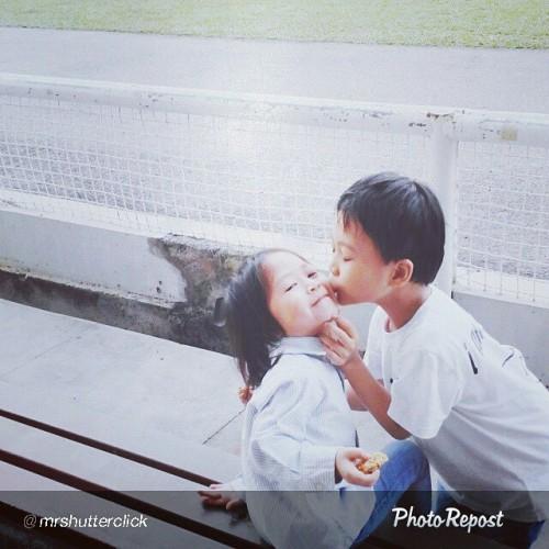 "By @mrshutterclick ""Muah2!!! #kids #boy #girl #love"" via @PhotoRepost_app  Awwww… #kid #KidsStyle #KidsIdea #siblings ##IdlanShafy #ZuhrahCarmilla #son #daughter #lovelovelove #LoveIt #lovelove #MY #Malaysian #Malaysia #ILoveMalaysia #SiblingsLove #kiss #kisskiss #NadiahJaapar #blogger"