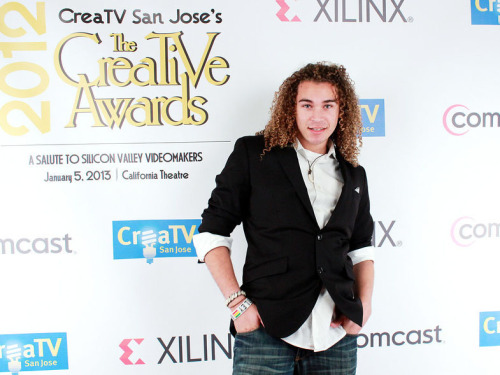 Some funny, some goofy, and many gorgeous red carpet photos of DeAndre Brackensick from Saturday's CreaTV event can be found at http://kymberlibrady.smugmug.com.